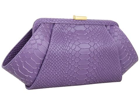 Z Spoke Purple Clutch