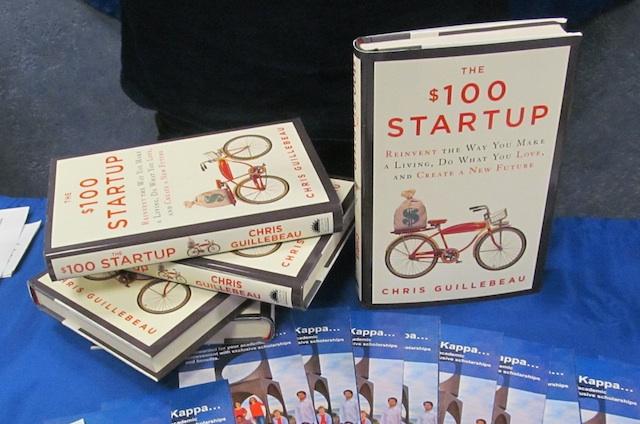 $100 Startup Tour Book
