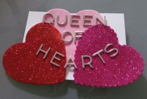 Queen of Hearts DIY Vday Cards