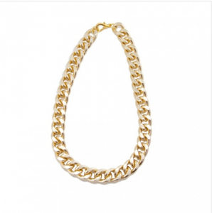 T and J Designs Gold Chain Link Necklace