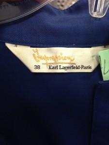 impression Karl Lagerfield Dress