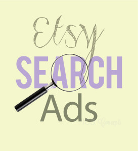 """One Etsy seller thoughts on """"etsy search ad"""" program"""