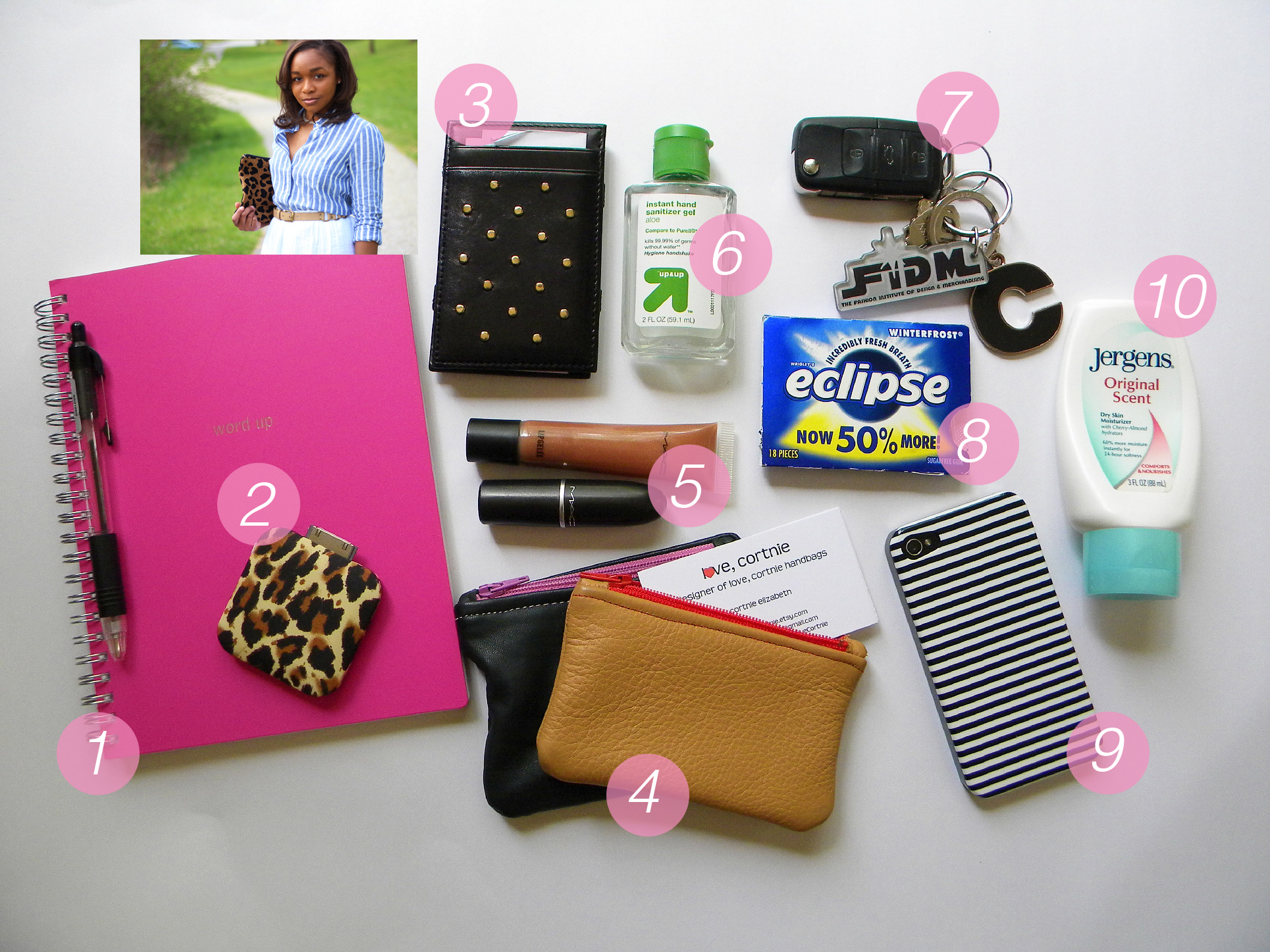 What's In Your Bag: Love Cortnie