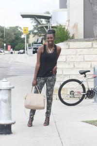 Tasha at The Domain Austin Texas