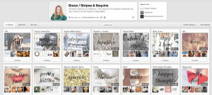 Grace Atwood's Pinboards