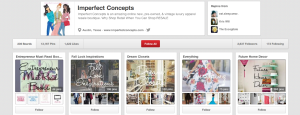 Imperfect Concepts Pinboards