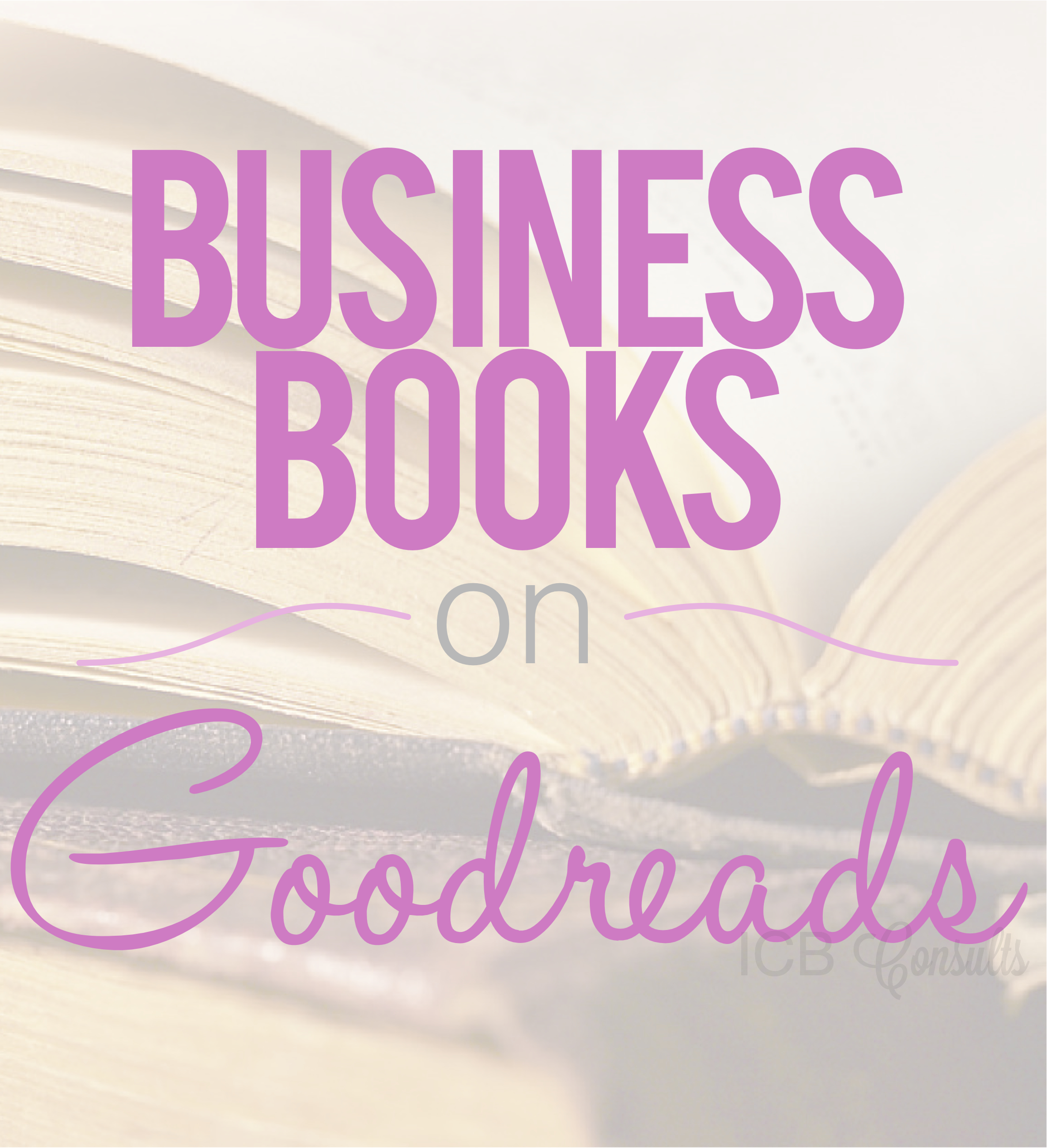 Business Books On Goodreads Imperfect Concepts