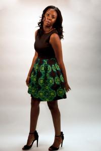 Tasha: Just Taylor Dress via Cato's and Qupid Heels via Urban OG