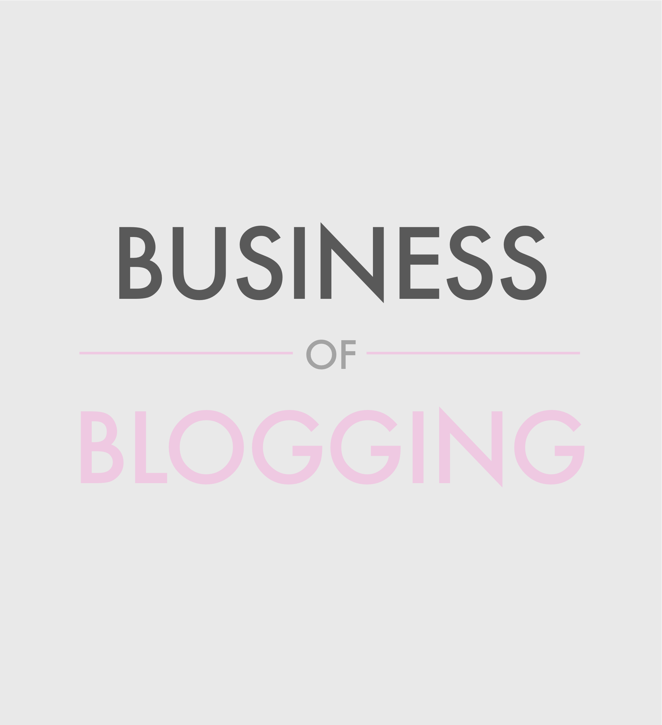 Business of Blogging