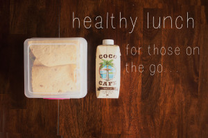 Healthy Lunch For Those On Go