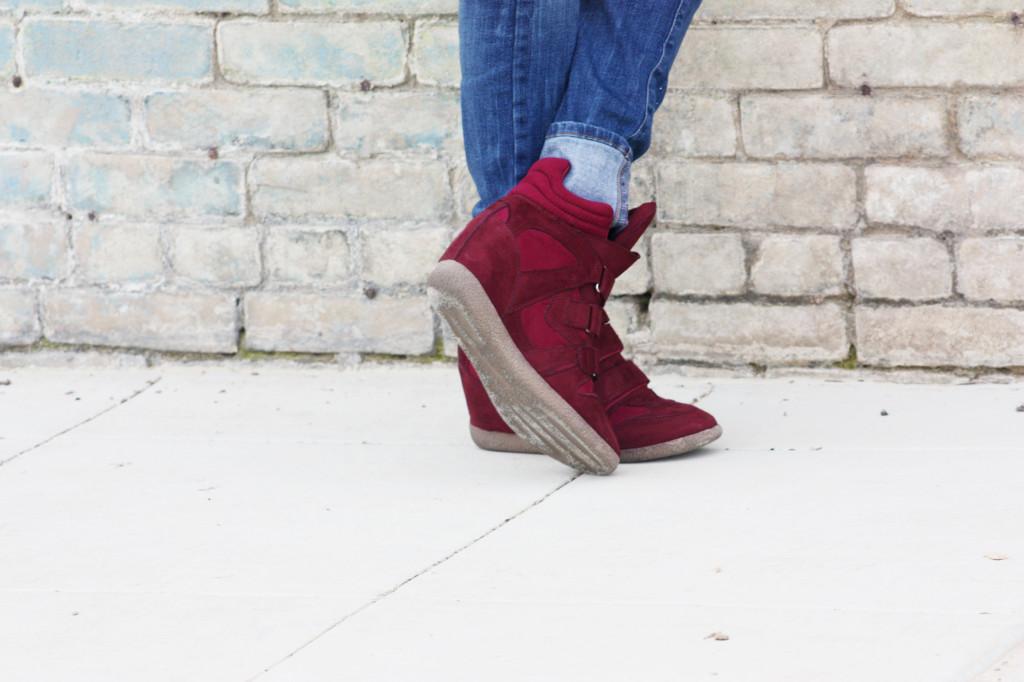 Kahsha Sneaker Wedges