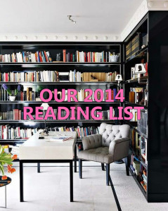 Our 2014 reading list