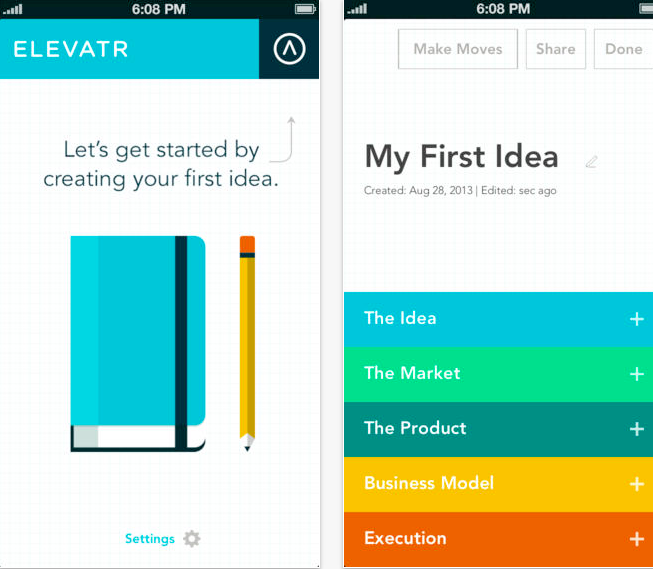 Elevatr Productivity App for Business Owners