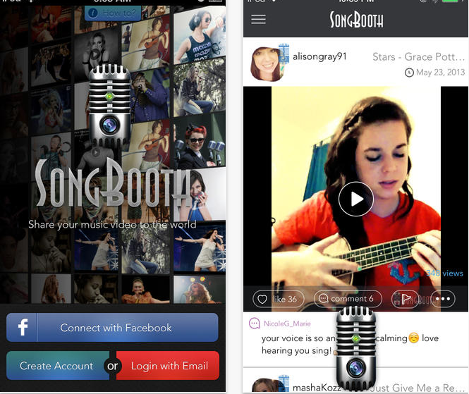 SongBooth App
