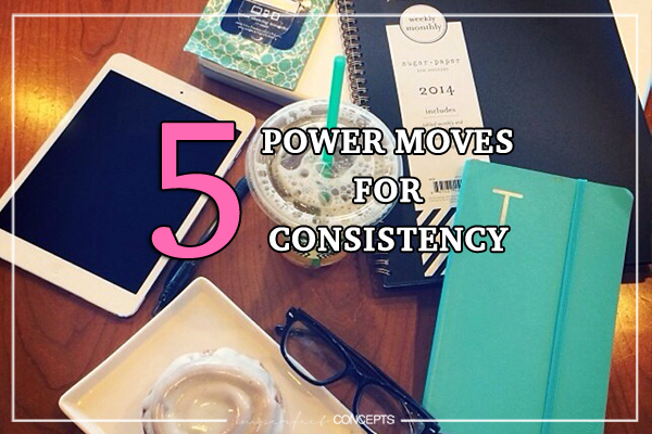 How to stay consistent while running a small business.