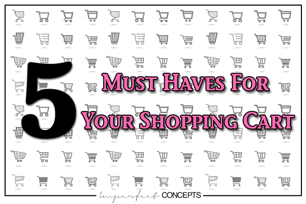 Everything your small business website shopping cart needs for you to succeed!