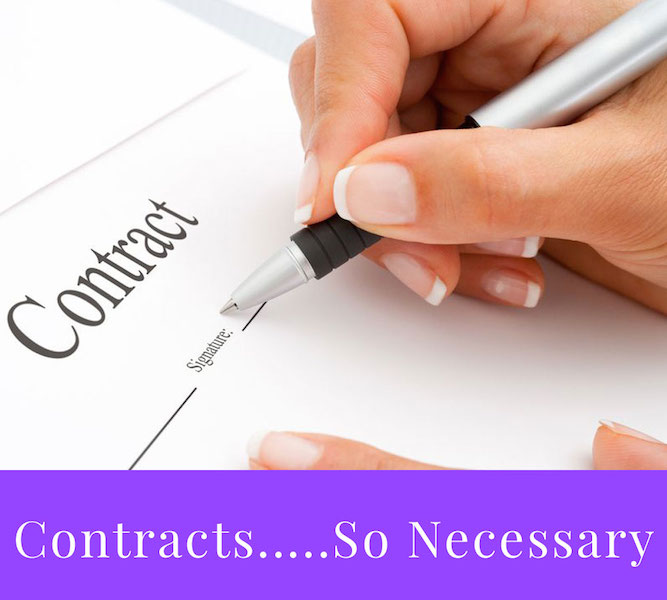 Why contracts are very important for your service based business