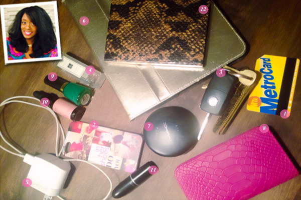 What's In Your Bag: Renae Bluitt of In Her Shoes