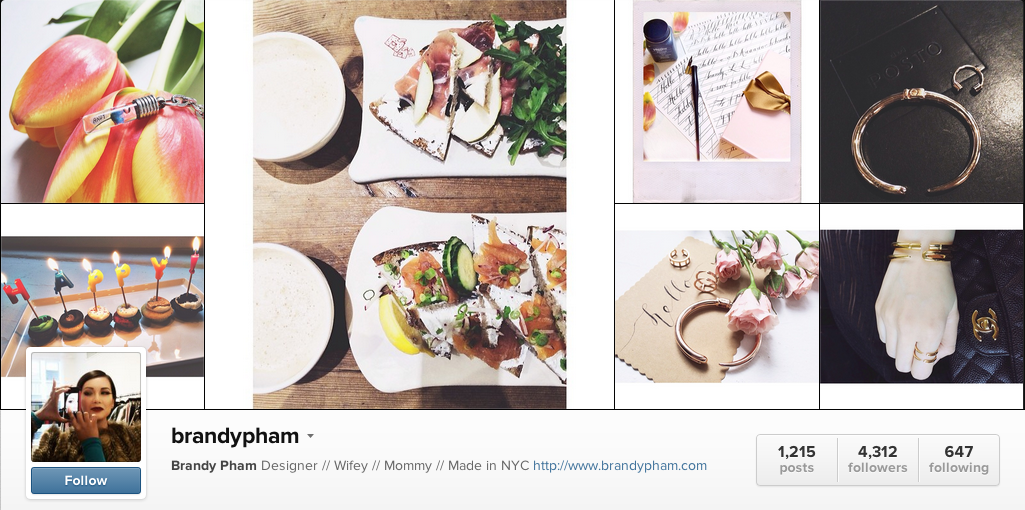 Amazing people to follow on Instagram @BrandyPham