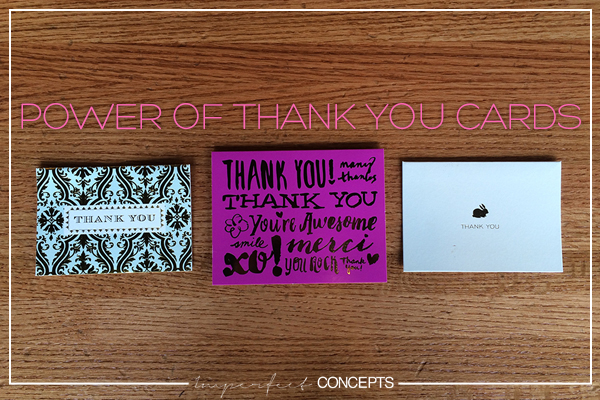 Power of Thank You Cards