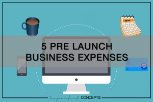 5 Pre Launch Business Expenses