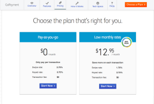 Intuit Go Payment Pricing Plan