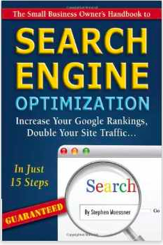 The Small Business Owner's Handbook to Search Engine Optimization graphic image