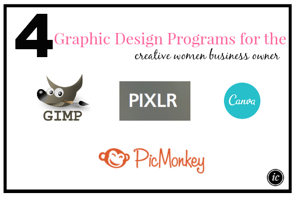 4 Graphic Design Programs