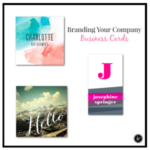 Branding Your Company Business Cards