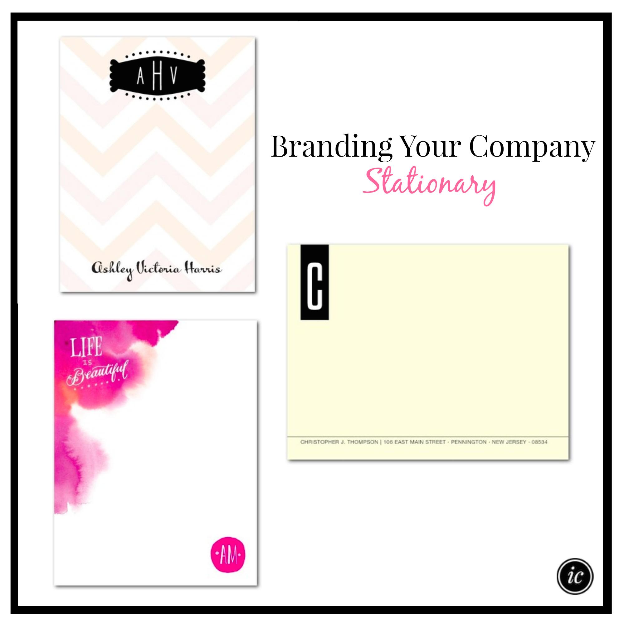 Branding Your Company Stationary