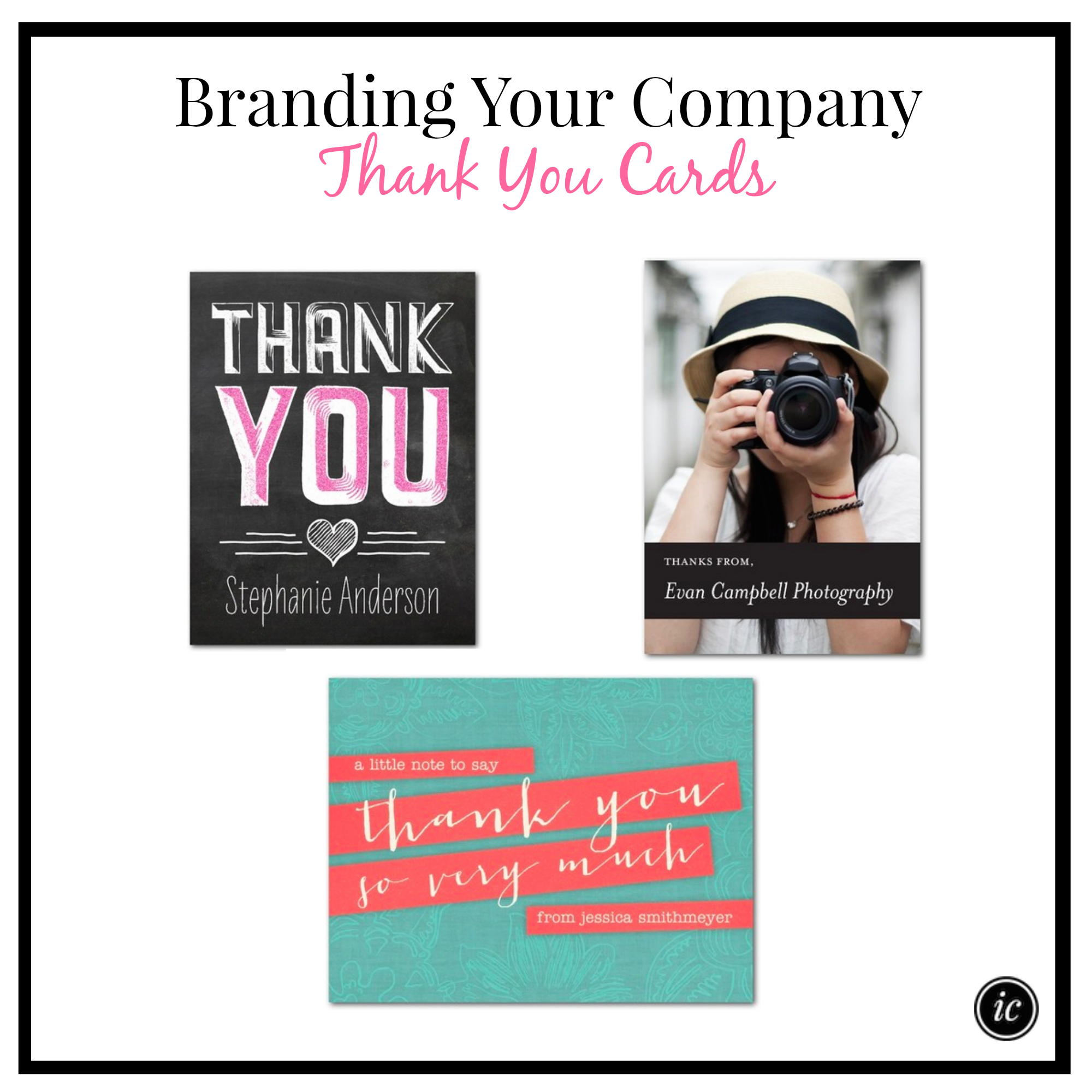 Branding Your Company Thank You Cards