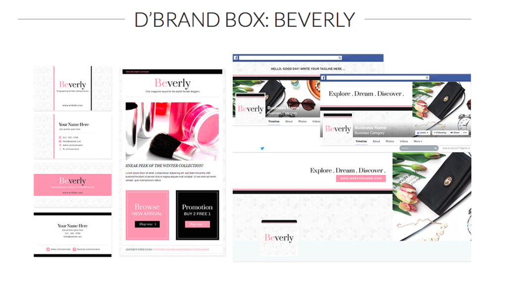 D'Brand Box: Beverly from BluChic