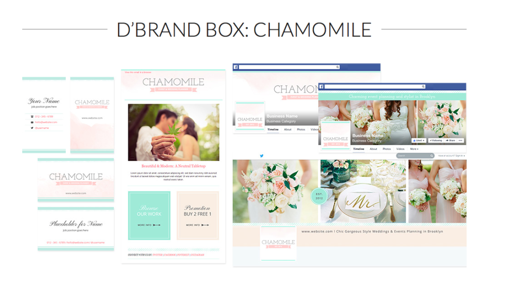 D'Brand Box Chamomile from BluChic