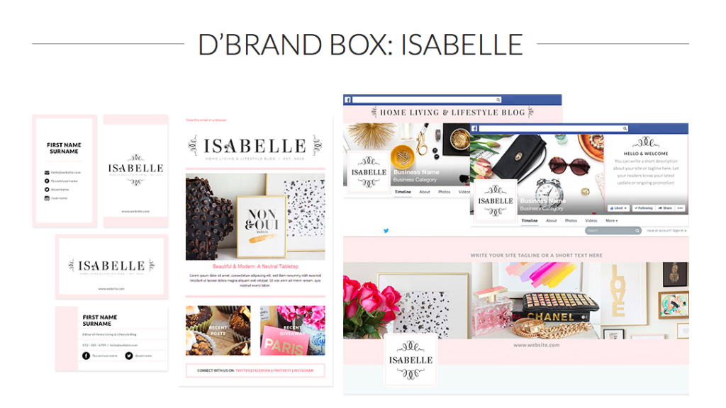 DBrand Box Isabelle from Bluchic