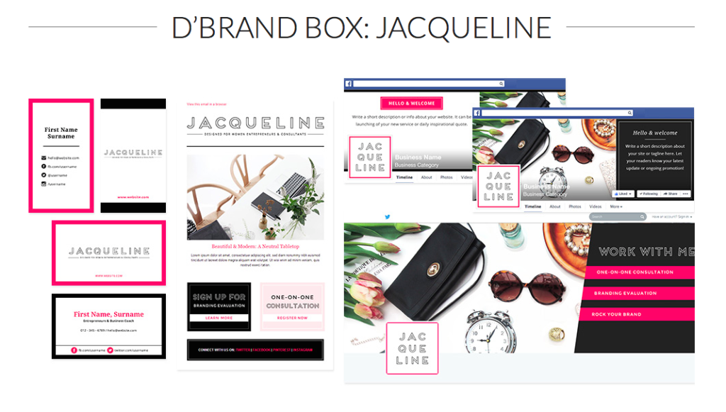 D'Brand Box: Jacqueline from BlueChic