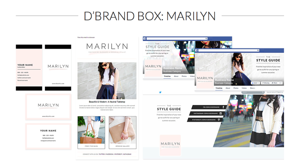 D'Brand Box: Marilyn from Bluchic
