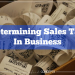 Determinig Sales Tax In Business