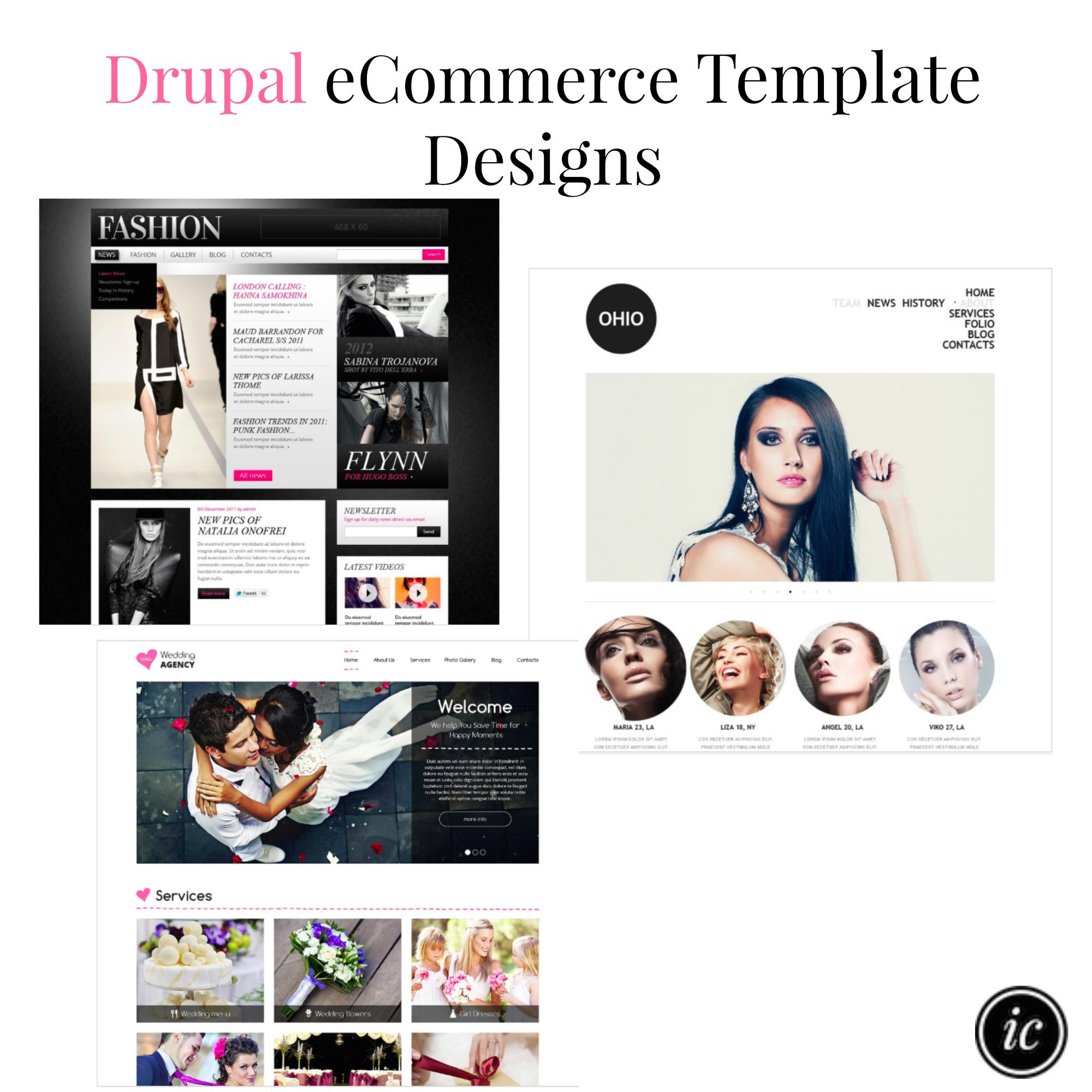 Drupal eCommerce Template Designs