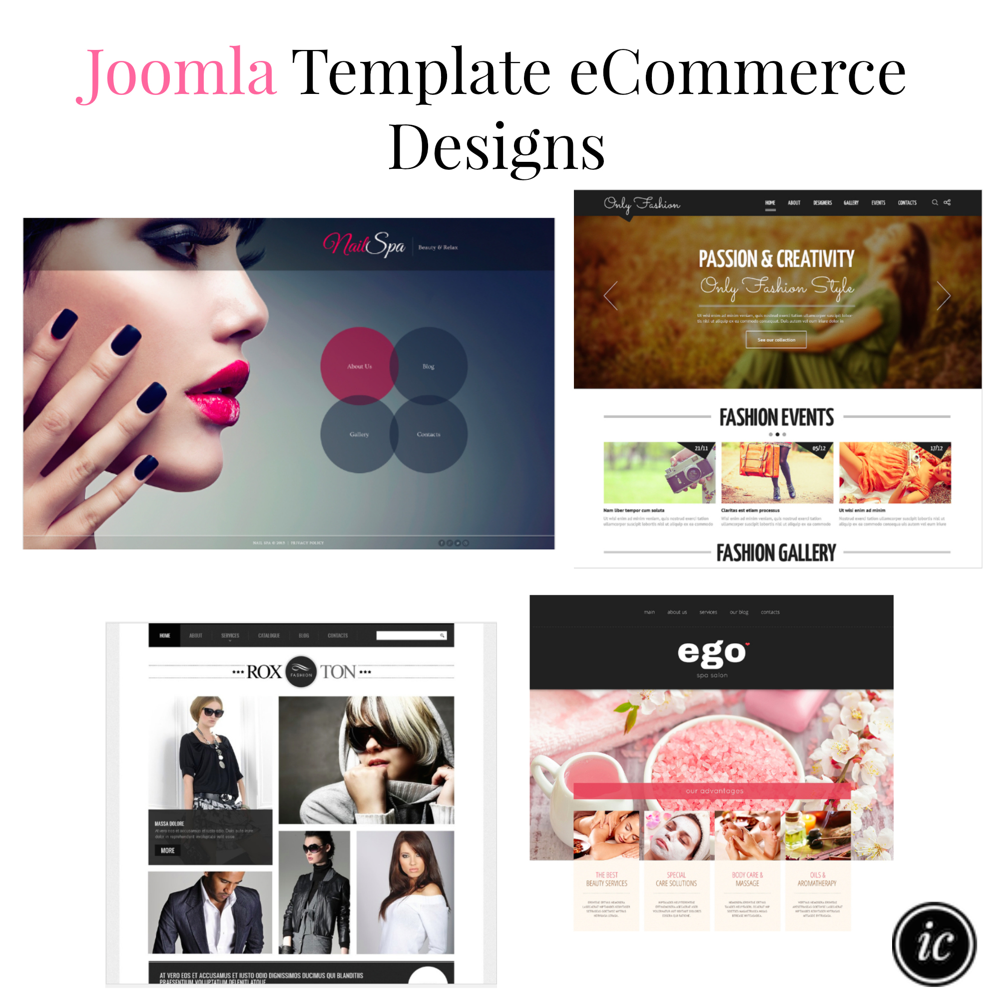 Joomla Template eCommerce Designs