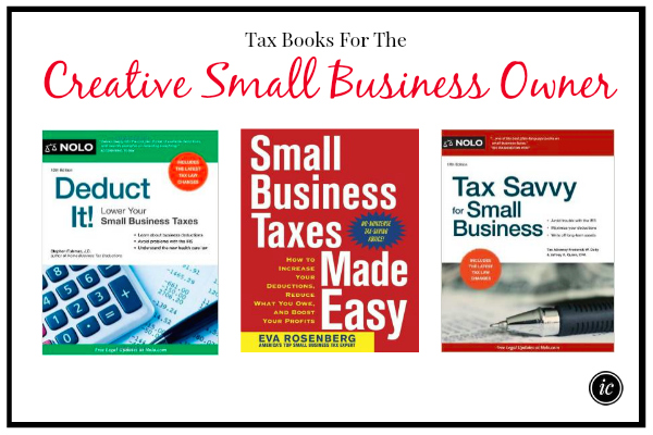 Tax Books For The Creative Small Business Owner