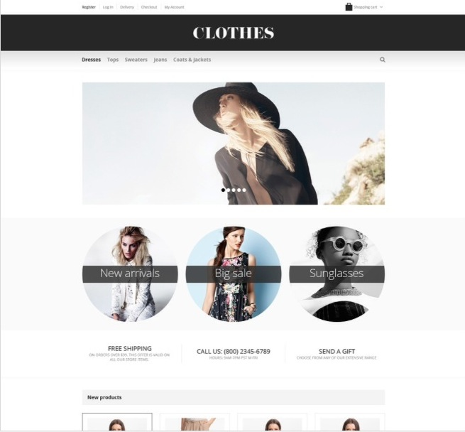 fashionable apparel woocommerce