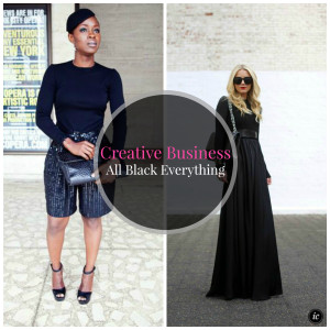 Creative Business All Black Everything