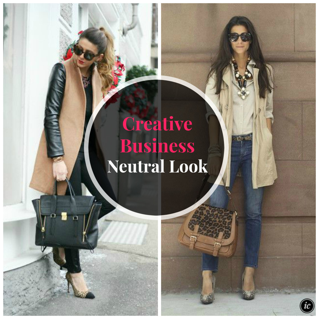 Creative Business Owner Neutral Look