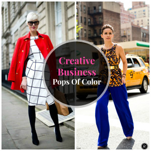 Creative Business Pops of Color