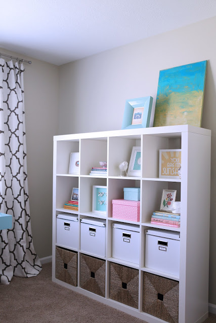 How to Style Expedit from Ikea bookshelves
