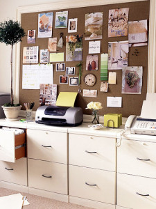 inspiration or mood board for office