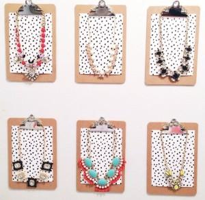 Jeweled Clipboard inspiration