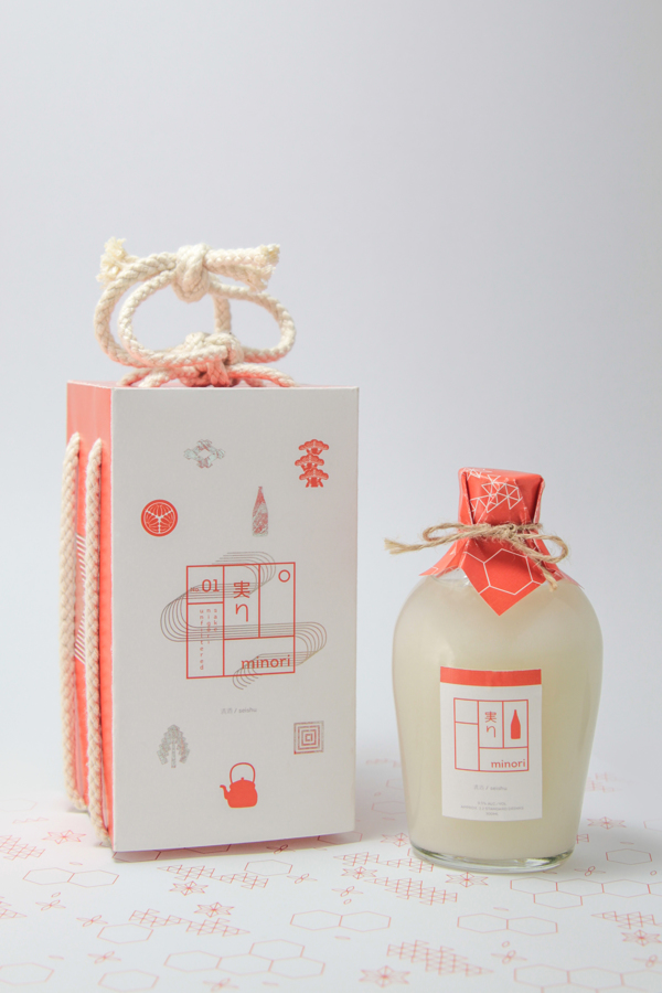 Minori Sake Product Design