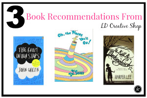 3 Book Recommendations From LD Creative Shop