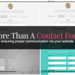More Than A Contact Form